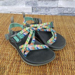 Cute Mint Green Chacos Strappy Sandals Kids 11